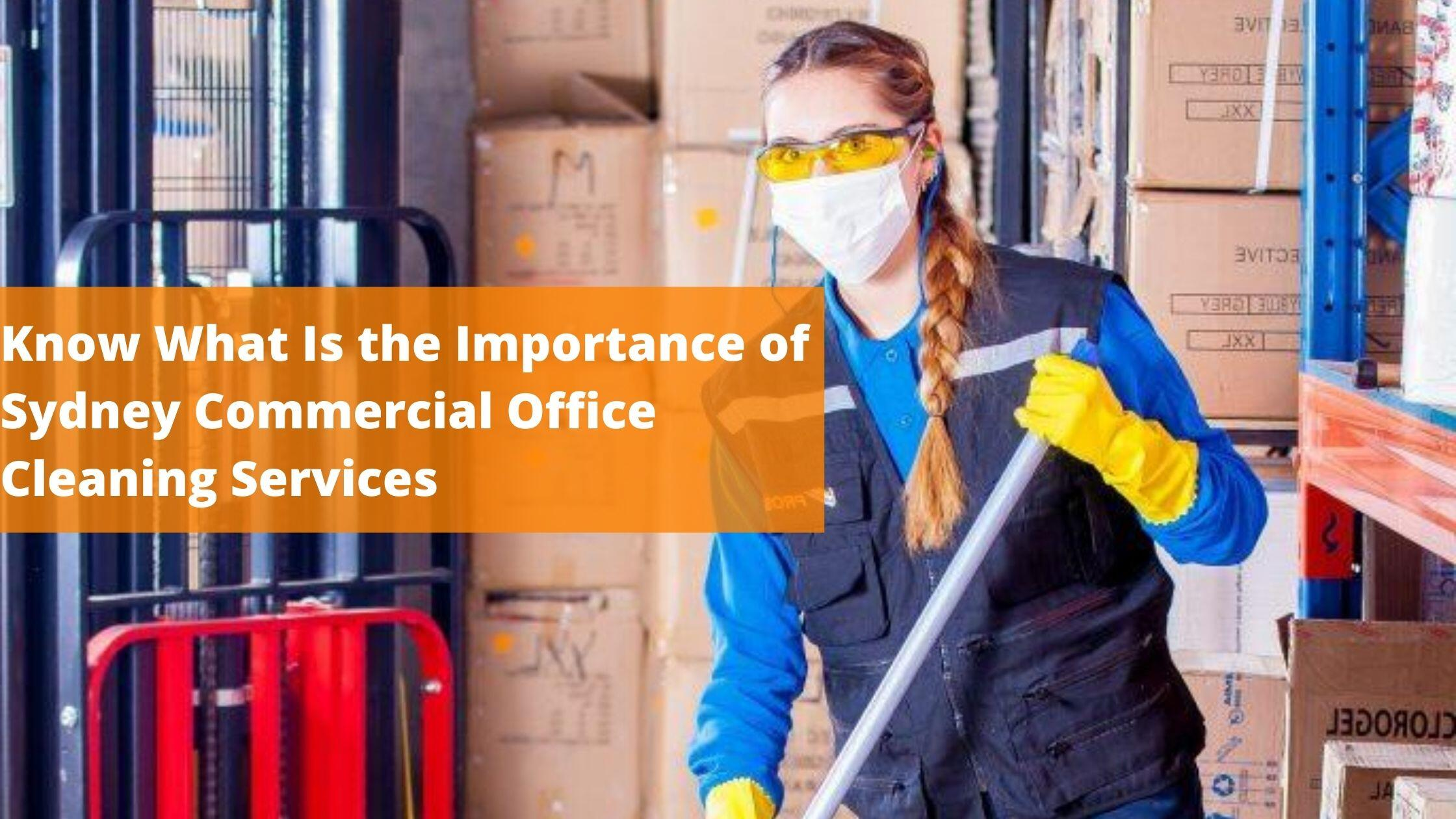 Sydney Commercial Office Cleaning Services